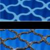 Arabeska niebieska